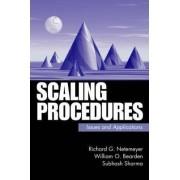 Scaling Procedures by Richard G. Netemeyer