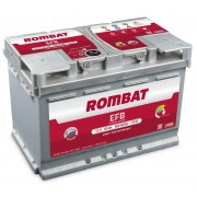 Rombat EFB baterie auto 12V - 60 Ah 560A L2 Start Stop