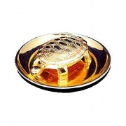 Feng Shui Turtle With Plate