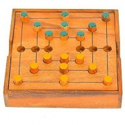 BRAIN GAMES Nine Men'S Morris Strategy Game