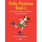 Violin Playtime: Bk. 2 by Paul De Keyser