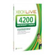 Xbox 360 Live 4200 punten (Xbox live €50,40) ( Key/Code )