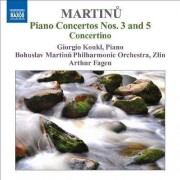 B. Martinu - Piano Concertos Vol.1 (0747313220670) (1 CD)