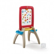 Tablita de scris ALL AROUND EASEL FOR TWO (RED)