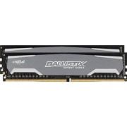 Crucial Ballistix Sport Kit Memoria da 16 GB (2 x 8 GB), DDR4, 2400 MT/s, (PC4-19200) DIMM, 288-Pin - BLS2K8G4D240FSA