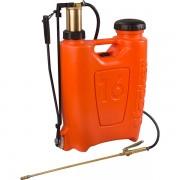 Pompa manuala de presiune tip rucsac 16 litri cu piston si lance din bronz