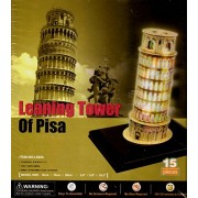 Leaning Tower of Pisa LED 3D Puzzle