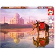 Educa 16756 - Puzzle 1000 Elephant At Taj Mahal