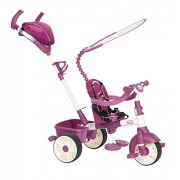 Little Tikes - Triciclo 4-in-1 Sports Edition, colore: Rosa/ Bianco
