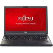 Laptop Fujitsu Lifebook E556 15.6 inch Intel i5-6200U 8GB DDR4 SSD256 Black