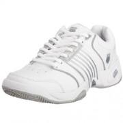 K-Swiss ACCOMPLISH LS~WHITE/PLATINUM~M 91805-147-M - Zapatillas de tenis de cuero para mujer