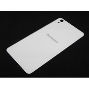 Red Qube Back Replacement Panel Cover for Lenovo S850 - White