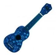 """Blue Honu Floral Ukulele 21"""""""