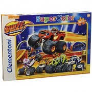 Clementoni Blaze and The Monster Machines Puzzle (40 Piece)
