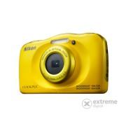 Nikon Coolpix W100, galben