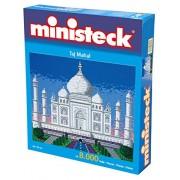 Ministeck 31860 - Puzzle Ministeck da circa 8.000 pezzi, motivo: Taj Mahal,