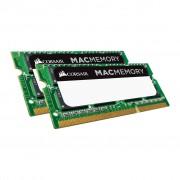 Памет Corsair DDR3L,1866MHz 16GB 2x204 SODIMM 1.35V, Apple Qualified, Unbuffered