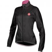 Castelli Women's Velo Windbreaker Jacket - Black - XS