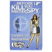 Before I Kill You Mister Spy Board Game by Cheapass Games