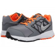 Nike Downshifter 6 (Little KidBig Kid) Cool GreyTotal OrangeWhiteMetallic Silver