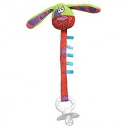 Playgro Zany Zoo Dog Pacifier Clip for Baby
