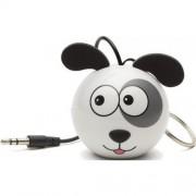 Boxa portabila Trendz Mini Buddy Dog, Alb/Negru