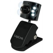 Camera web LogiLink cu 6 leduri UA0072 (Neagra)