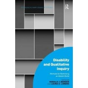 Disability and Qualitative Inquiry by Ronald J. Berger