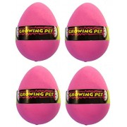 Aikoi Growing Hatching Flamingo Eggs - Animal Planet Grow Eggs(Set of 4)