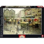 Educa Produce Market Basel Puzzle, 6000 Piece