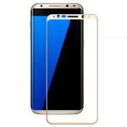 Samsung Galaxy S8 Amorus Tempered Glass Screen Protector - Gold
