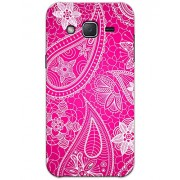Samsung Galaxy J2 J200 Cases & Covers - Pink Henna Case by myPhoneMate - Designer Printed Hard Matte Case - Protects from Scratch and Bumps & Drops.