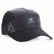 Unisex al aire libre General Casual sombrero de sol transpirable - Negro
