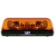 Mini Rampa Luminoasa Rotativa Compacta 12/24V Galbena cu prindere intr-un punct