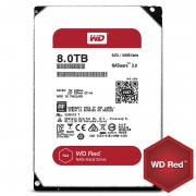 HDD 8TB SATAIII WD Red 128MB for NAS (3 years warranty)