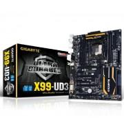 Carte mre ATX GA-X99-UD3 Socket 2011-3 Intel X99 Express - DDR4 - SATA 6Gb/s - M.2 - USB 3.0 - 4x PCI-Express 3.0 16x
