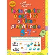 Teste pentru preşcolari şi clasa pregătitoare (5 - 7 ani)