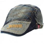 Sombrero retro de la gorra del dril de algodon de la mezclilla con el patron del jamont