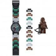 Lego Star Wars Orologio Componibile Chewbacca in Plastica 8020370