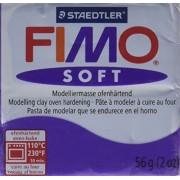 Fimo Soft Polymer Clay 2 Ounces-8020-63 Plum