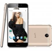 Celulares UMI Plus 3G(5.5''4GB+32GB)Android 6.0 Octa-Core Smartphone Desbloqueado-Dorado