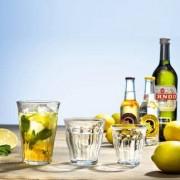 Duralex Picardie-Gläser, 6er-Set, 160 ml