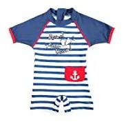 UV Protection Swimsuit - Baby - Unisex - Les 2 Pieds Dans l'Eau - Elly La Fripouille (2-3 years old)