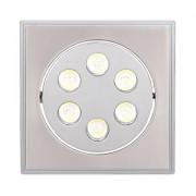 SPOT LED 6X1W WARMLIGHT HL674L