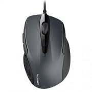 TeckNet UM013 2.4G Pro S2 Hi Performance Mouse, Back & Forward Buttons, Upto 2000 DPI - Black/Grey