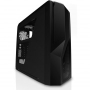NZXT Phantom 410 Mid Tower Computer Case , Black (CA -Negro