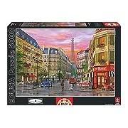 Educa 16022 - Rue Paris, Dominic Davison - 5000 pieces - Genuine Puzzle