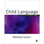 Child Language by Mathew Saxton