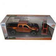 2011 Ford F-150 SVT Raptor Pickup Truck Copper Just Trucks with Extra Wheels 1 24 by Jada 97192