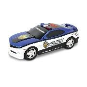 Szolgálunk és védünk gépkocsik - Chevy Camaro rendőrautó